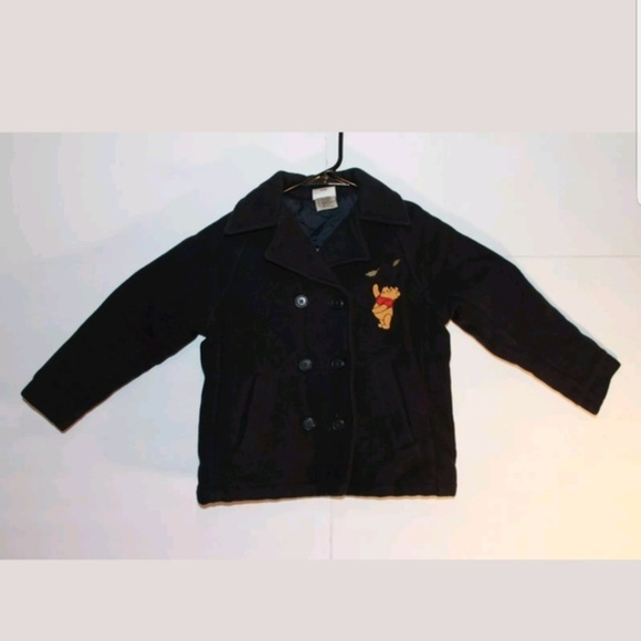 Disney Other - Disney Winnie The Pooh Kids Size Small Peacoat